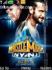 Undertaker vs CM Punk theme screenshot