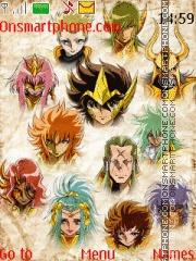 Saint Seiya Omega tema screenshot