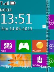 Windows 8 theme screenshot