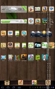 Capture d'écran Wooden Box 01 thème