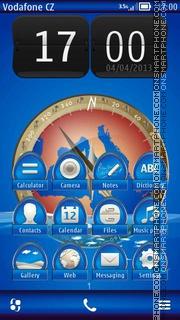 Capture d'écran Compass 02 thème