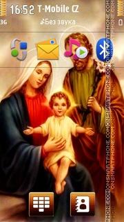 Jesus And Mary 02 es el tema de pantalla