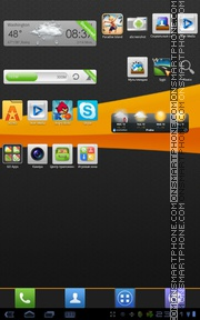MIUI X4 tema screenshot