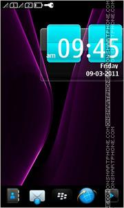 Скриншот темы Purple BB