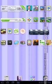 Capture d'écran Noble 01 thème