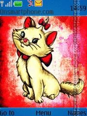 Marie Disney Cat es el tema de pantalla