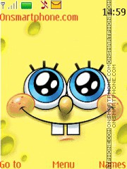 Sponge Bob 14 theme screenshot