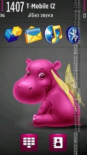 Hippo Angel es el tema de pantalla