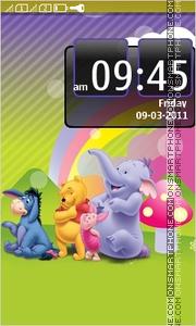 Pooh & Friends theme screenshot