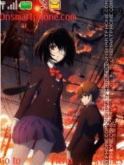 Mei Misaki theme screenshot