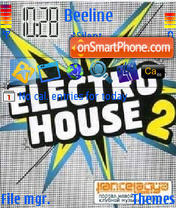 Electrohouse es el tema de pantalla