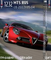 Alfa-Romeo es el tema de pantalla