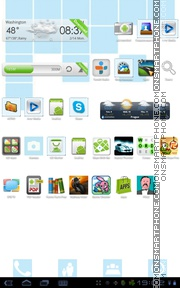 Summer 2014 tema screenshot