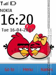 Angry Birds Love theme screenshot