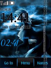 Lonely In Night tema screenshot