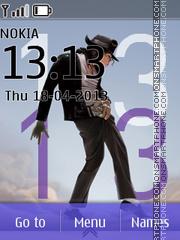 Michael Jackson Clock es el tema de pantalla