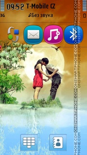 Loving Couple 04 theme screenshot