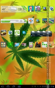 Rasta 03 theme screenshot