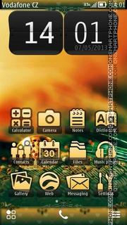 Capture d'écran Golden Drop thème