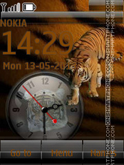 Free Tiger By ROMB39 tema screenshot