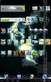 Thunder 03 es el tema de pantalla
