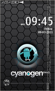 Android Mod tema screenshot