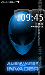 Alienware 12 theme screenshot