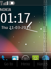 Android Jelly Bean theme screenshot