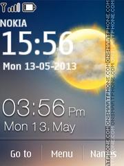 Solar Clock es el tema de pantalla