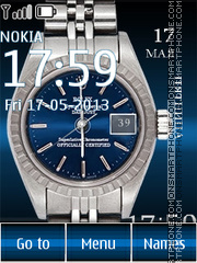 Rolex theme screenshot