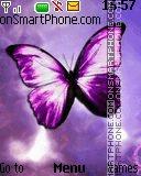 Purple Butterfly es el tema de pantalla