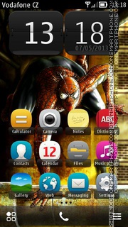 Spiderman 08 theme screenshot
