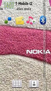 Nokia Pink 05 es el tema de pantalla