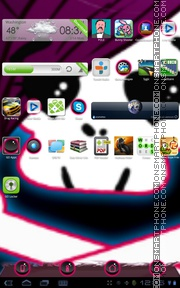 Emo Pink 01 theme screenshot