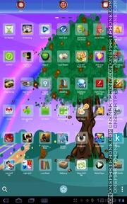 Spring Tree 01 es el tema de pantalla