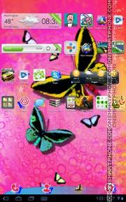 Butterfly 36 es el tema de pantalla