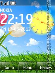 Live Spring Day theme screenshot
