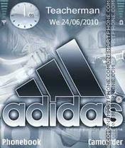 Logo-Adidas es el tema de pantalla