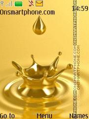 Golden Drop theme screenshot