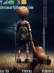 Boy on the road es el tema de pantalla