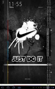 Nike 11 theme screenshot