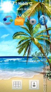 Beach 39 theme screenshot