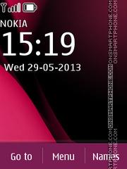 Nokia C2 03 Dark theme screenshot