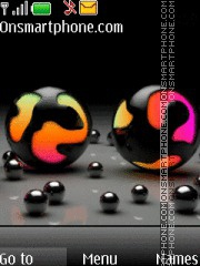 Balls 05 theme screenshot