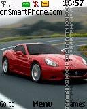 Ferrari Car es el tema de pantalla