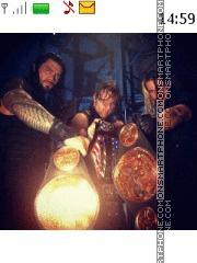 WWE The Shield theme screenshot