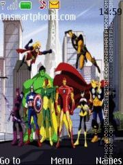 The Avengers es el tema de pantalla