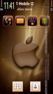 Apple Brown theme screenshot