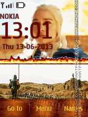 Daenerys Targaryen es el tema de pantalla