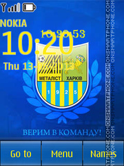 Metalist Kharkov es el tema de pantalla